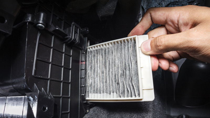 how to replace the cabin air filter