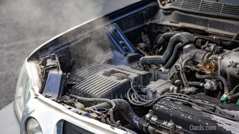 engine overheating symptoms