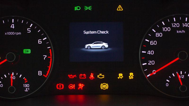 dashboard warning lights