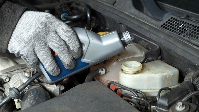 low brake fluid
