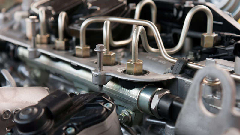 fuel injector pressure sensor