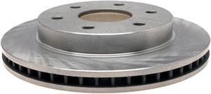 ACDelco silver brake rotor