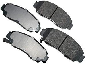 Akebono ProAct brake pads