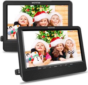 best dual screen portable DVD player