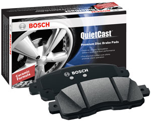 Bosch QuietCast brake pads