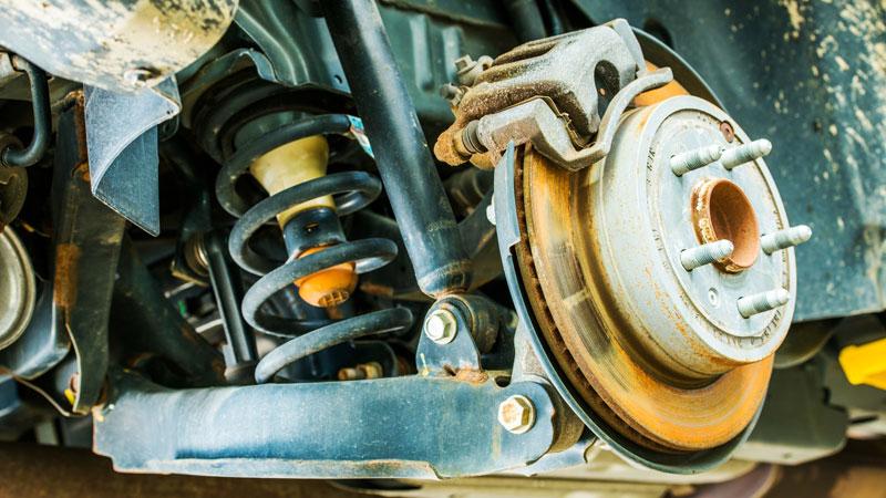 brake corrosion