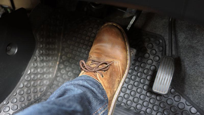 spongy brake pedal
