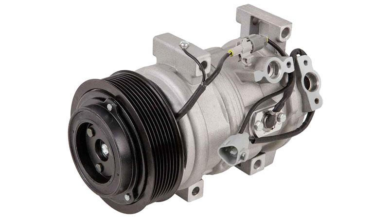 car A/C compressor replacement cost