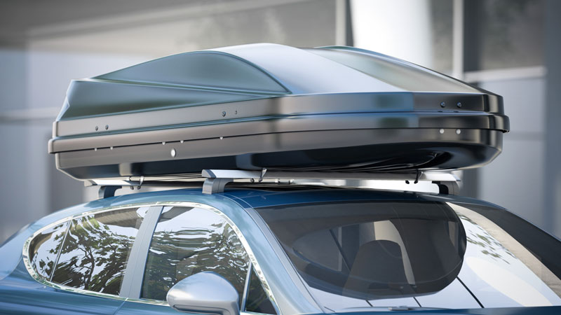 car roof rack weight