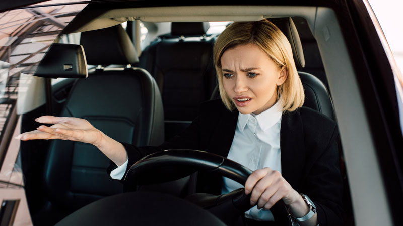 car jerks idling