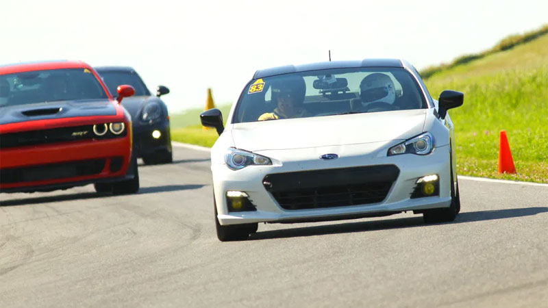 car track day prep