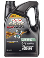 Castrol Edge high mileage oil