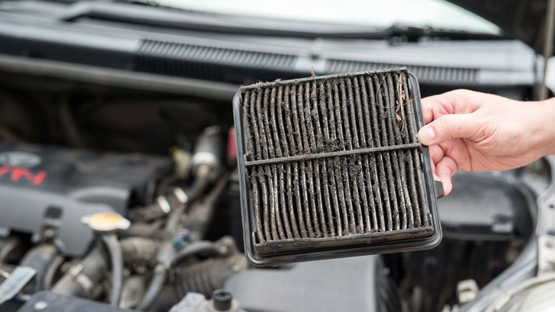 clogged air filter