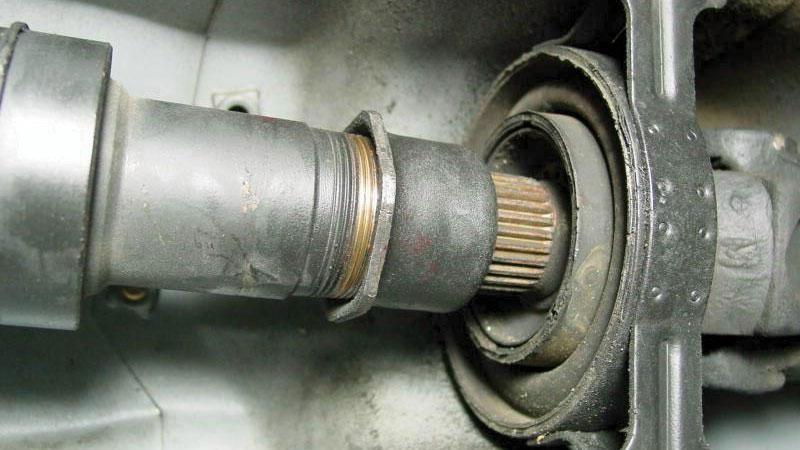 drive shaft bearings