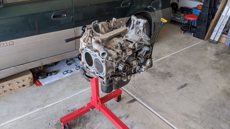 Subaru short block