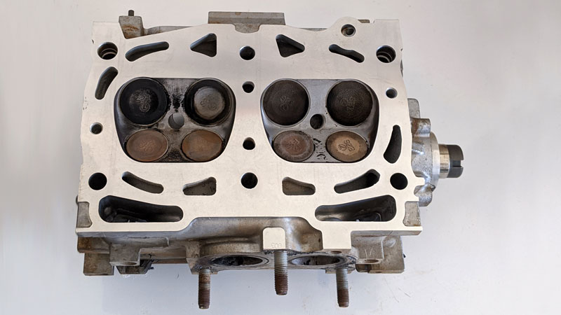 machined cylinder head