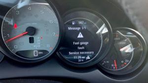 fuel gauge problem