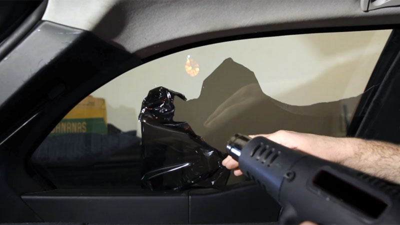 heat gun for window tint removal