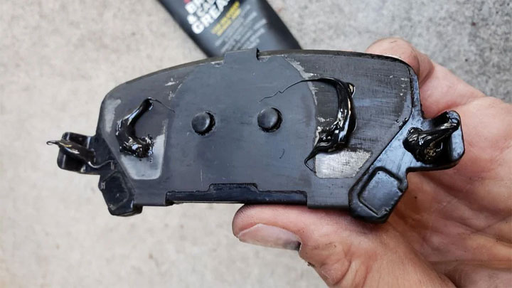 is brake pad grease necessary