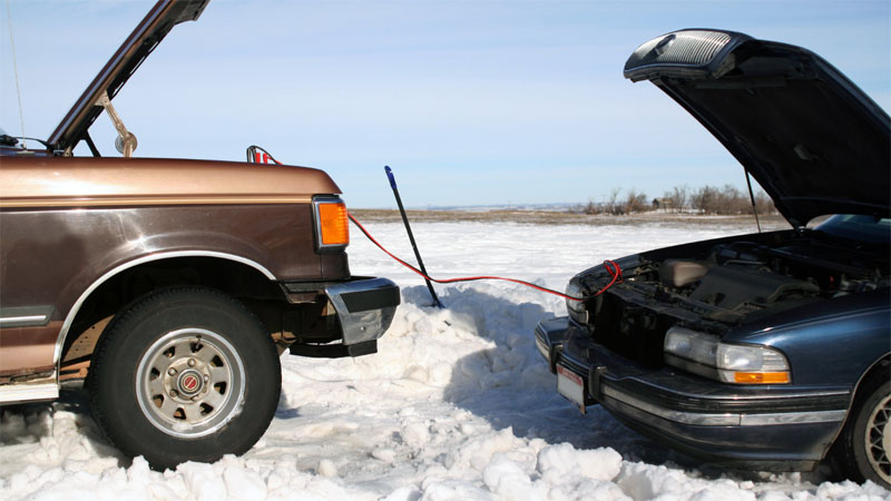 jumpstart car in cold