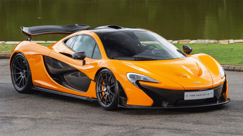 McLaren kintetic energy recovery