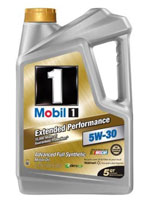 Mobil 1 Extended Performance synthetic oil