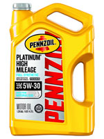 Pennzoil high mileage synthetic oil