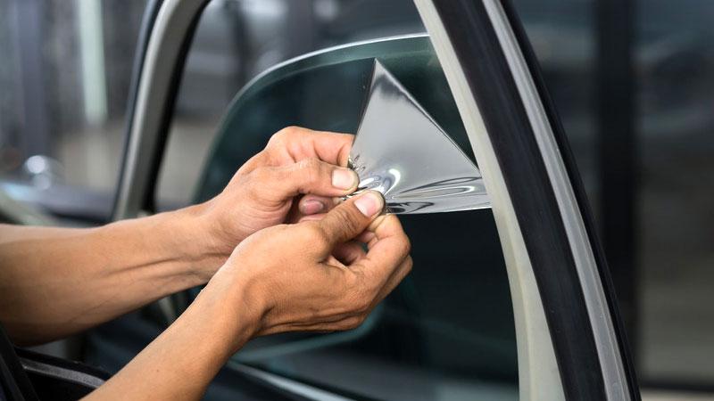 remove old car window tint