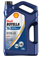 Shell Rotella synthetic oil