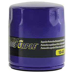Royal Purple oil filter review