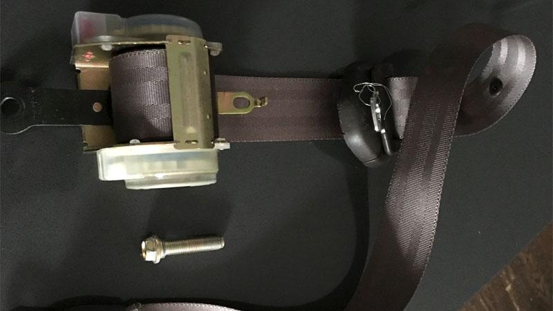 seat belt issue