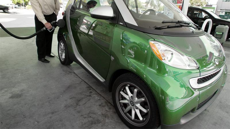 Smart car gas mileage