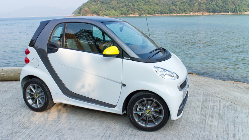 Smart Fortwo miles per gallon