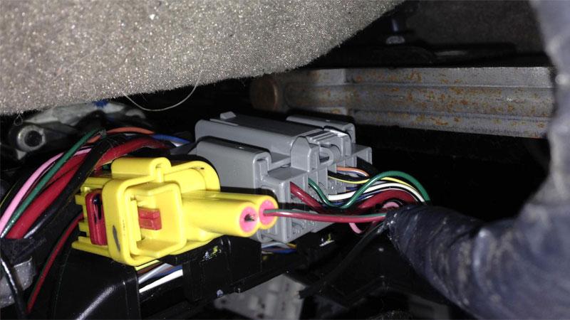 SRS wiring harness