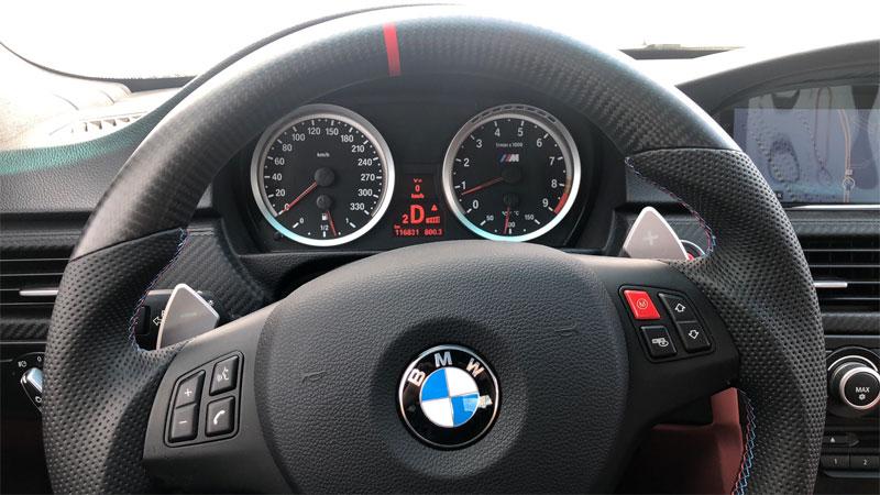 steering wheel off center