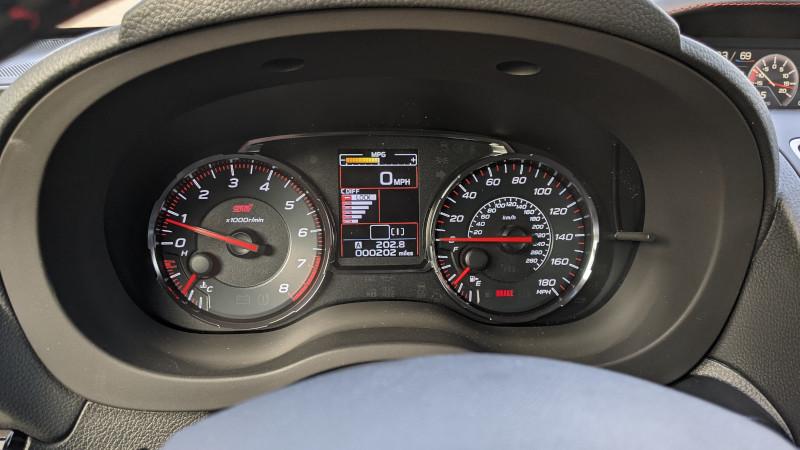 Subaru STI DCCD