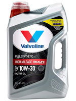 Valvoline MaxLife fully synthetic high mileage oil