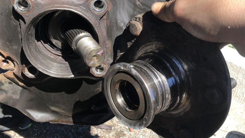 wheel bearing installation